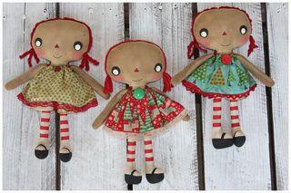 110510 ROA11-01 Xmas Little Girl Annies