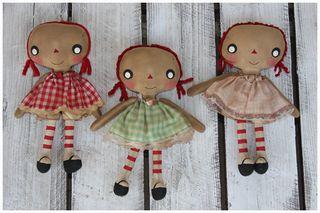 110510 ROA11-02 Gingham Print Little Girl Annies