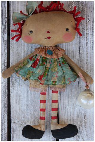 111710 ROA11-07 Vintage Christmas Ornie Maddy Anne