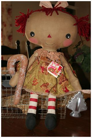 113010 ROA11-16 Christmas Candy Cane Lucy Anne
