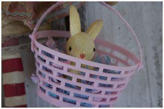 Easter basket closeup
