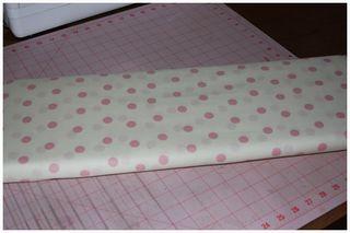 052511 Pink Dot Fabric