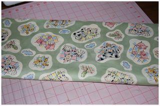 052511 Farm Print Fabric