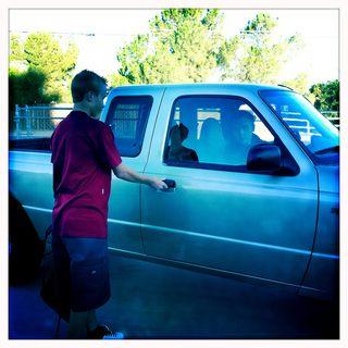 080811 ride to school