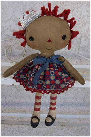 061611 ROA6-16 Americana Lil Girl Annie