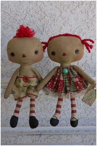 100611 ROA10-09 Christmas Lil Boy Lil Girl Set