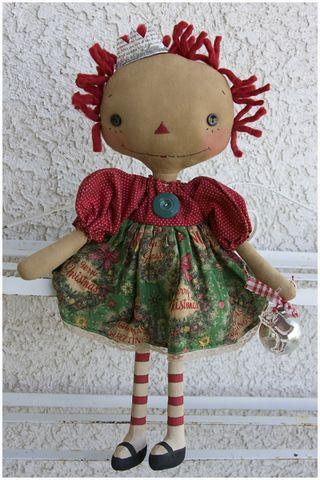 101411 ROA10-15 Vintage Christmas Annie