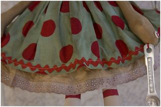 092711 ROA9-39 Emma Lou Skirt Closeup