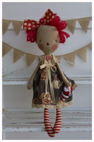 ROA9-13 Vintage Santa Flo Annie
