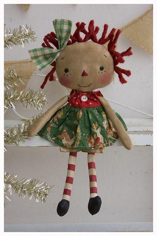 ROA11-03 Tiny Annie Reindeer Print